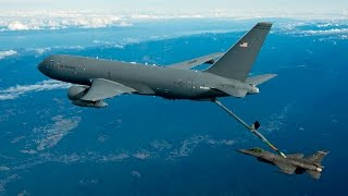 Boeing KC-46 Tanker's First Aerial Refueling