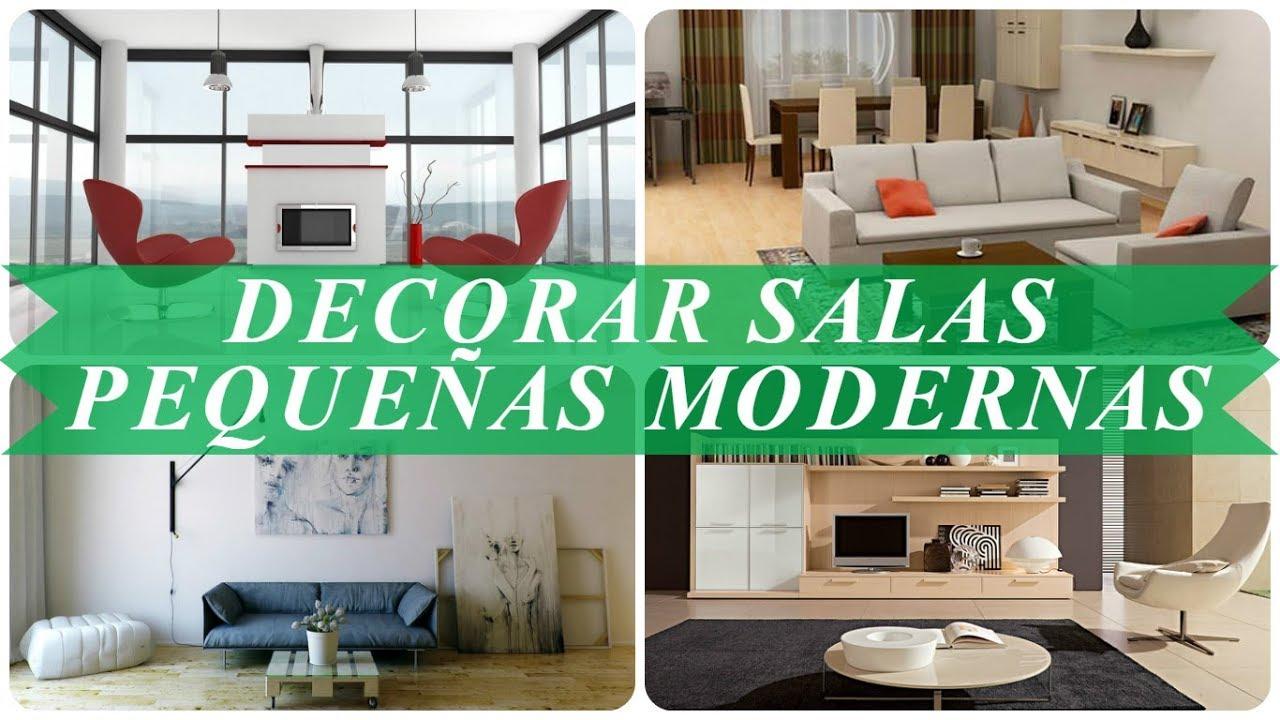 Ideas Para Decorar Salas Pequeñas Modernas