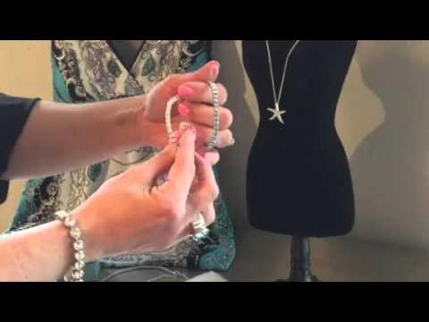 Starfish Necklace And Beachy Jewelry - Swarovski By Kristine