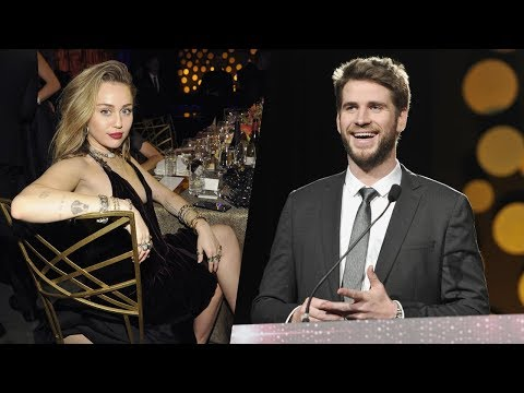 Liam thanks 'beautiful wife' Miley Cyrus at G'Day USA Awards
