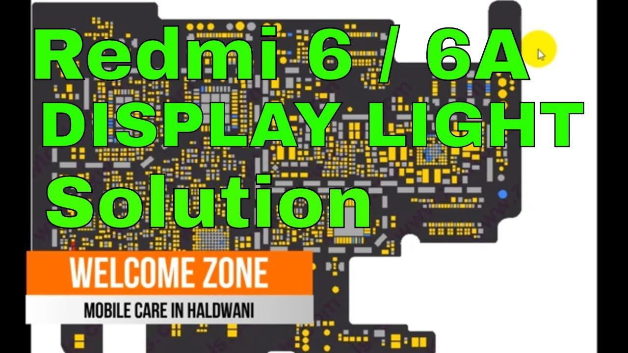 Redmi 6a Display Light Solution