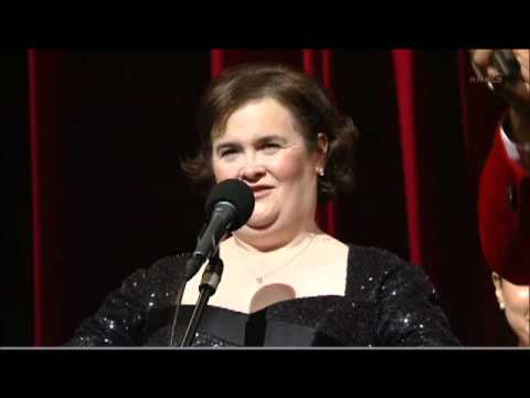 Susan Boyle  make me a channel of your peace
