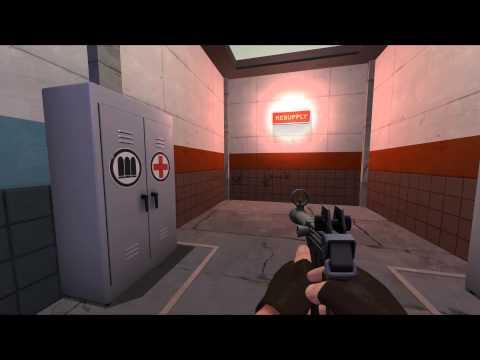 TF2- Sniper V.S. Spy Reanimation Pack Demonstration Video