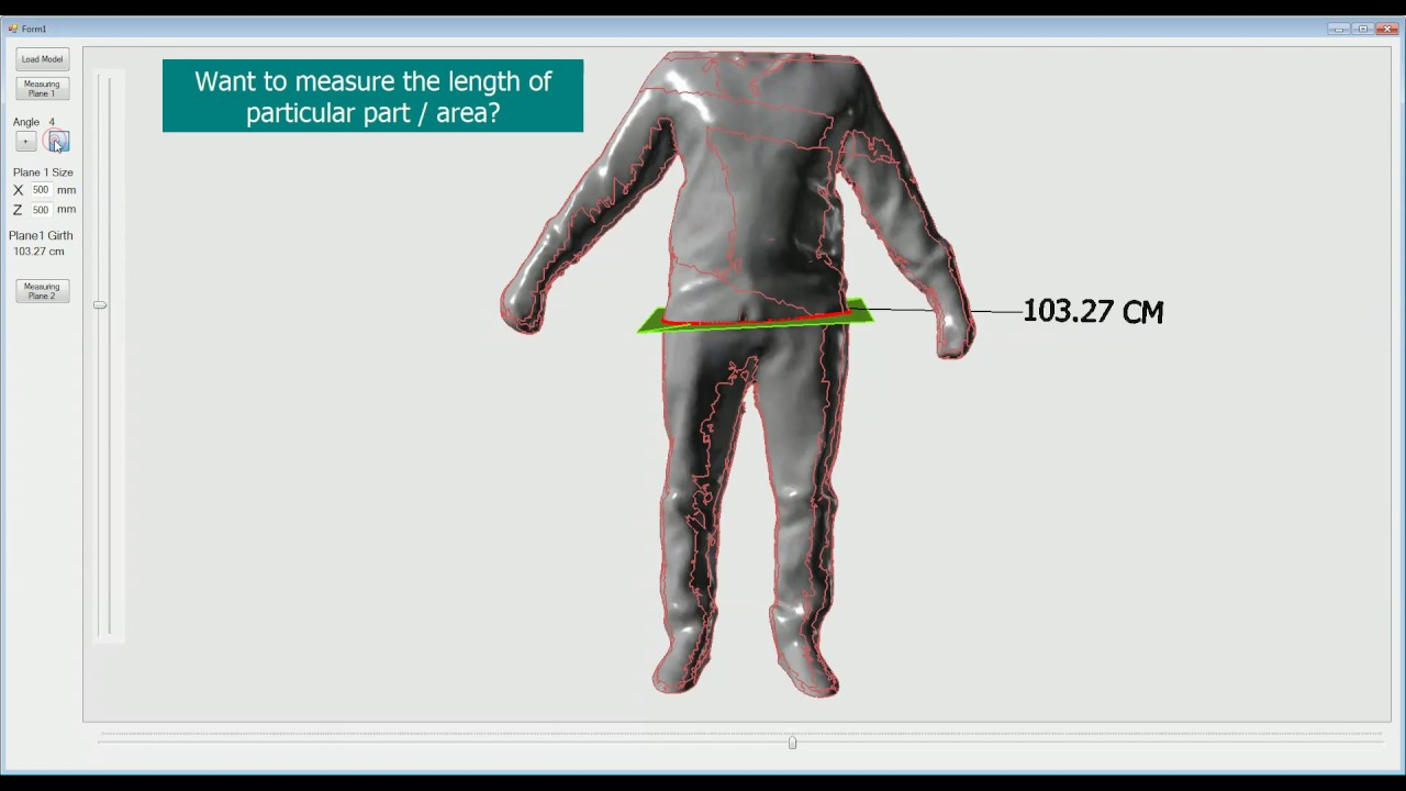 Measuring 3D Objects (OBJ/STL file)