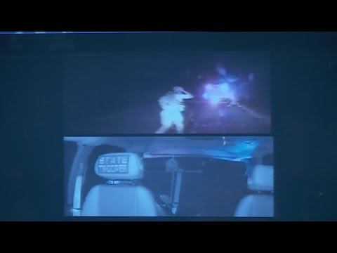 Chase video shows deadly shootout with Michael Vance