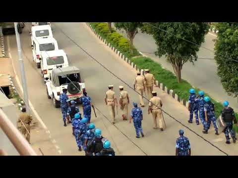 Indian Police In Action | 1000 Police officer's | Rapid Force | watch till end