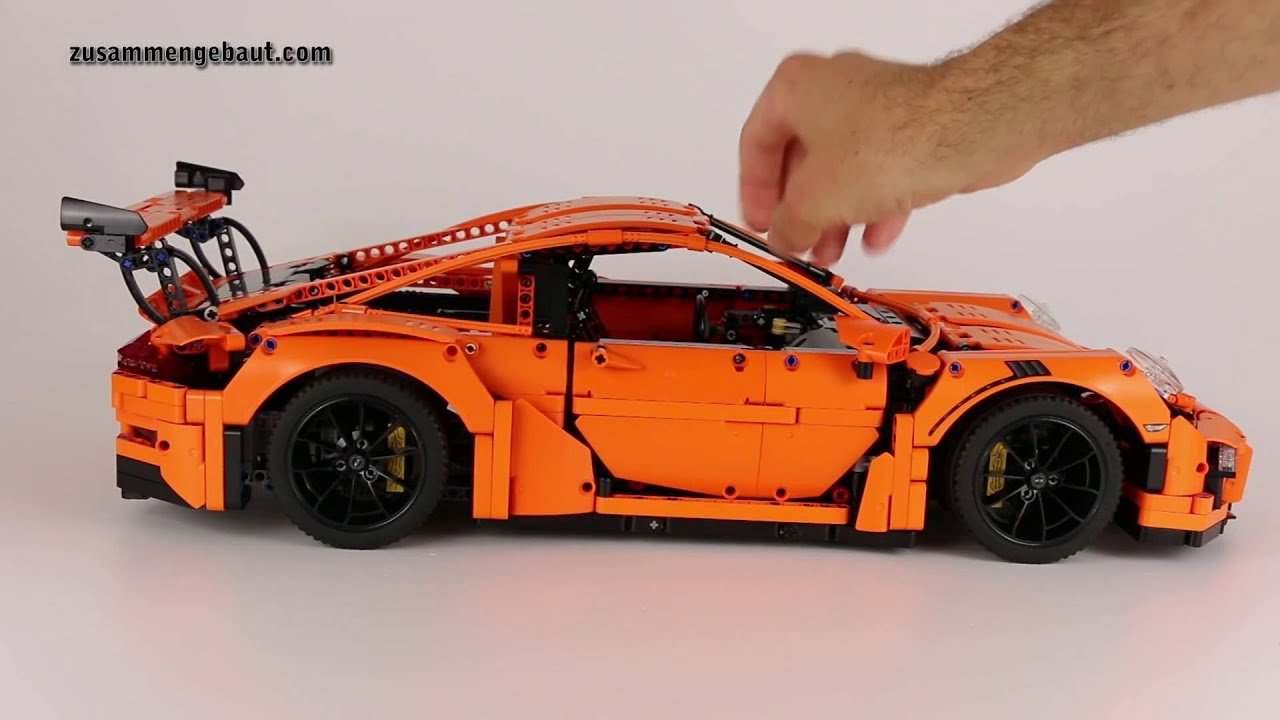 lego technic porsche 911 gt3 rs angeschaut deutsch. Black Bedroom Furniture Sets. Home Design Ideas