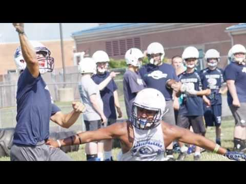 Blanchester Football Practice Aug 2
