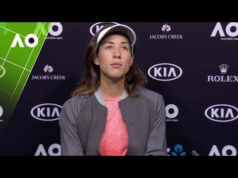 Garbiñe Muguruza press conference (2R) | Australian Open 2017