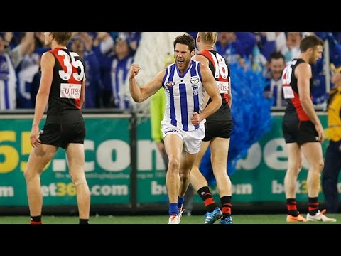 Elimination Final, 2014 - The comeback (North's third and fourth quarters)