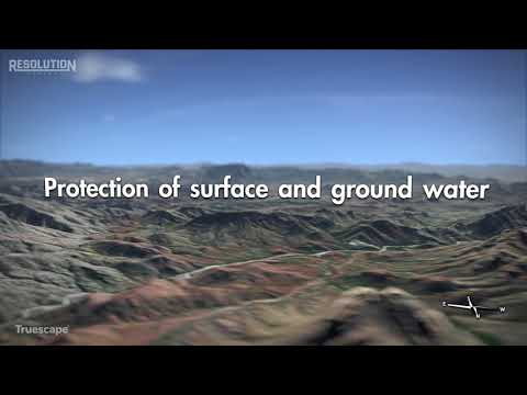 Resolution Copper Mine Tailings Storage Facility Overview