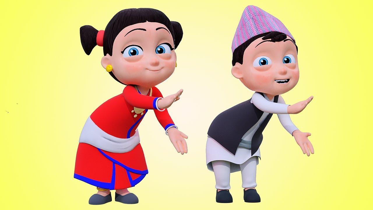 Tali Bajou ताली बजाउ | Nepali Rhymes for Kids | बाल गीत