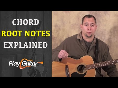 Guitar guitar chords root notes : Beginner Guitar Lesson - Chord Root Notes Explained - YouTube