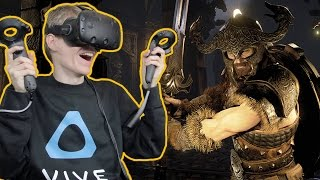 GORGEOUS SPELL FIGHTER IN VIRTUAL REALITY! | The Soulkeeper VR (HTC Vive Gameplay)