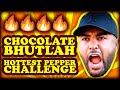 Black Guy does Chocolate Bhutlah Challenge (with WRECKLESS EATING)