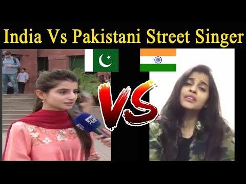 India Vs Pakistani Street Singer Talent   Amazing Street Singer in India And Pakistan