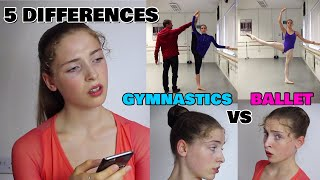 TOP 5 DIFFERENCES BETWEEN BALLET AND RHYTHMIC GYMNASTICS THAT WILL SURPRISE YOU...