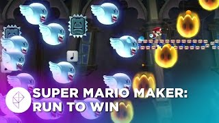 Super Mario Maker @ E3 2015: Just Keep Running to Win