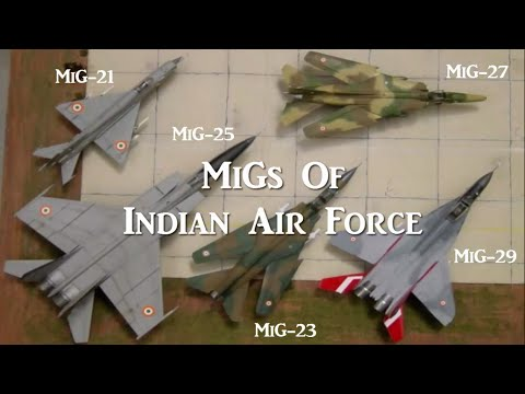 IAF MiGs (Indian Air Force)