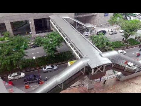 MaCea opens footbridge on Gil Puyat Ave in Makati City
