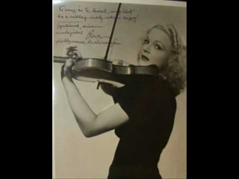 Erna Rubinstein plays Chaminade - Kreisler : Spanish Dance