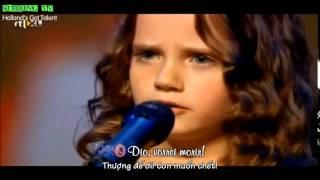 Kinh ngạc với giọng ca opera 9 tuổi chấn động Hà Lan Got Tallent O Mio Babbino Caro Vietsub 1