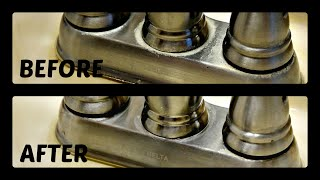 How to Remove Hard Water from Sink Faucets [HD]