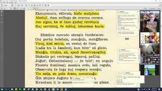 15 | Sinjoro Tadeo 2: 397-510 | Pan Tadeusz – 에스페란토 판 타데우시 2권 공부 (zoom)