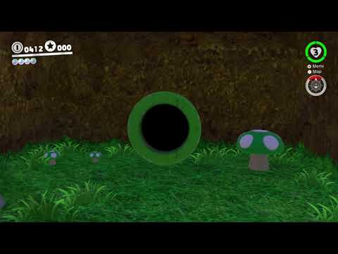 Mushroom Kingdom Power Moon 30 - Sunken Star In The Sea Of Clouds