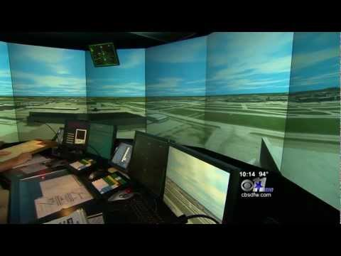 In the Tower - Training Air Traffic Controllers