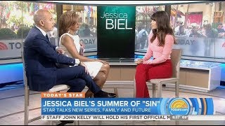 Jessica Biel - The Sinner - Today Show