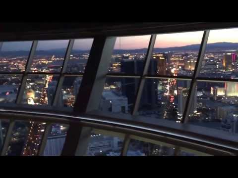The View From Top Of The World At The Stratosphere In Las Vegas, NV