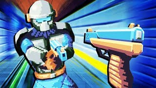 Awesome Retro VR Shooter! - Compound Gameplay - VR HTC Vive Pro
