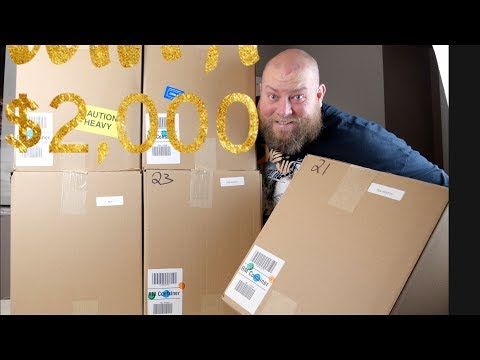 $2,028 Amazon Customer Returns Pallet + NOW IS THE TIME TO BUY PALLETS