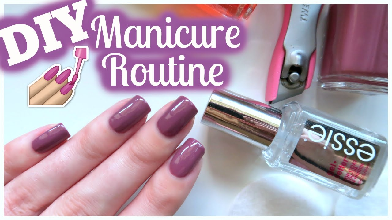 Diy perfect manicure routine at home jennyclairefox youtube solutioingenieria Gallery