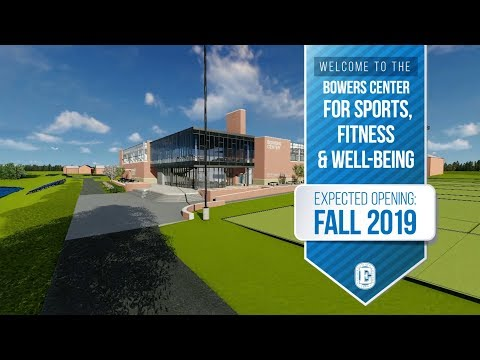 Bowers Center for Sports, Fitness and Well-being Fly Through with Details