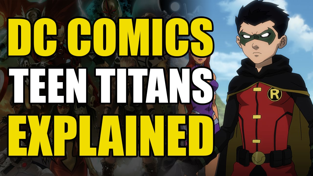 Think, that Teen titans dc comic