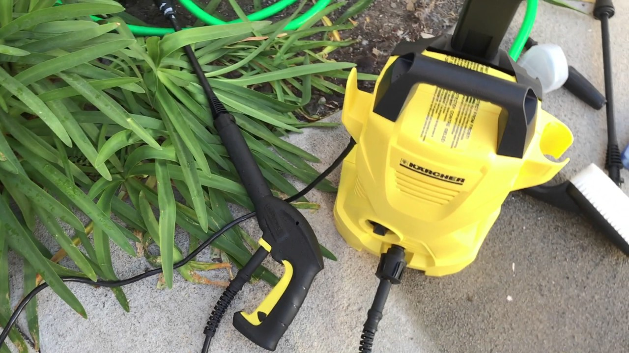 Karcher K2 Car Care Kit Electric Power Pressure Washer Open Box Review 中文开箱评测
