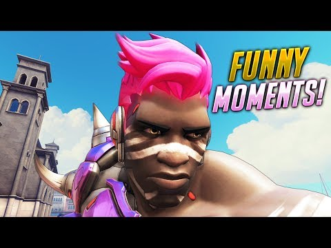 FUNNIEST Moments of Overwatch