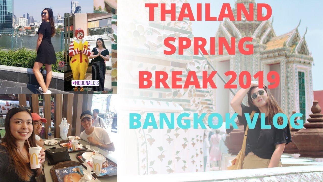 TAKING MY FRIENDS TO THAILAND | UCLA SPRING BREAK TRAVEL VLOG