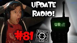 NOWY UPDATE - THE RADIO! | SCP Secret Laboratory #81
