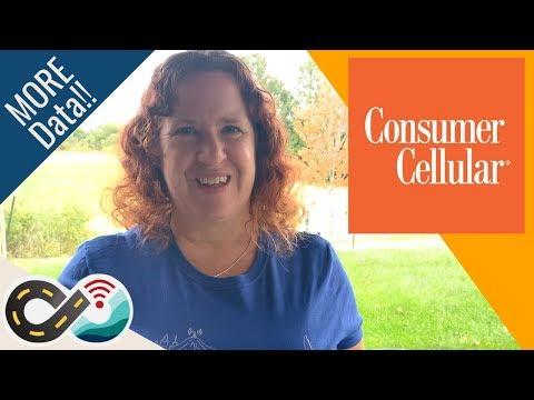 Consumer Cellular: More Data, Same Price (AT&T Smartphone Plans, Senior Discounts)
