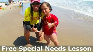 FREE SPECIAL NEEDS SURF LESSONS AT SOUTH PADRE ISLAND TEXAS!