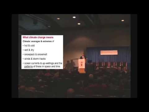 John Holdren's 2008 dangerous climate change lecture