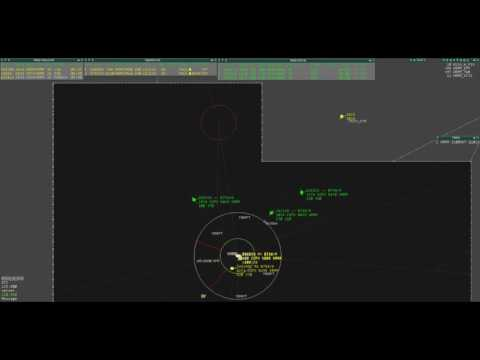 [VATSIM] West Asia Div | Male Overload | Maldives Control Radar | Time Lapse