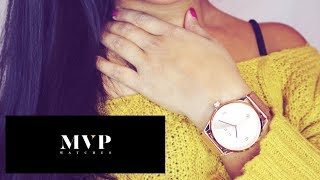 JOIN THE MVP CLUB - MVP WATCHES EXCLUSIVE NEW BRAND TO THE WATCH MARKET