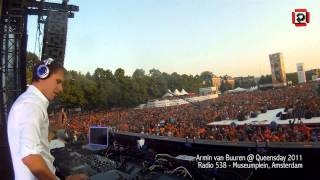 "Armin van Buuren plays ""Lump"" @ Koninginnedag 2011, Radio 538 - Museumplein, Amsterdam"