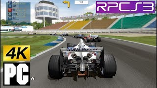 PS3 F1 Championship Edition on PC 4k RPCS3 Emulator (Studio Liverpool)
