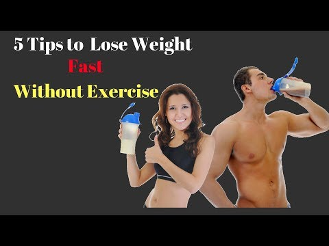 5 Tips to Lose Weight Fast Without Exercise