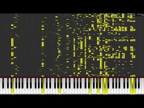 twenty one pilots: Levitate - Auditory Illusion (MIDI PIANO COVER) Hear Lyrics When There Are None